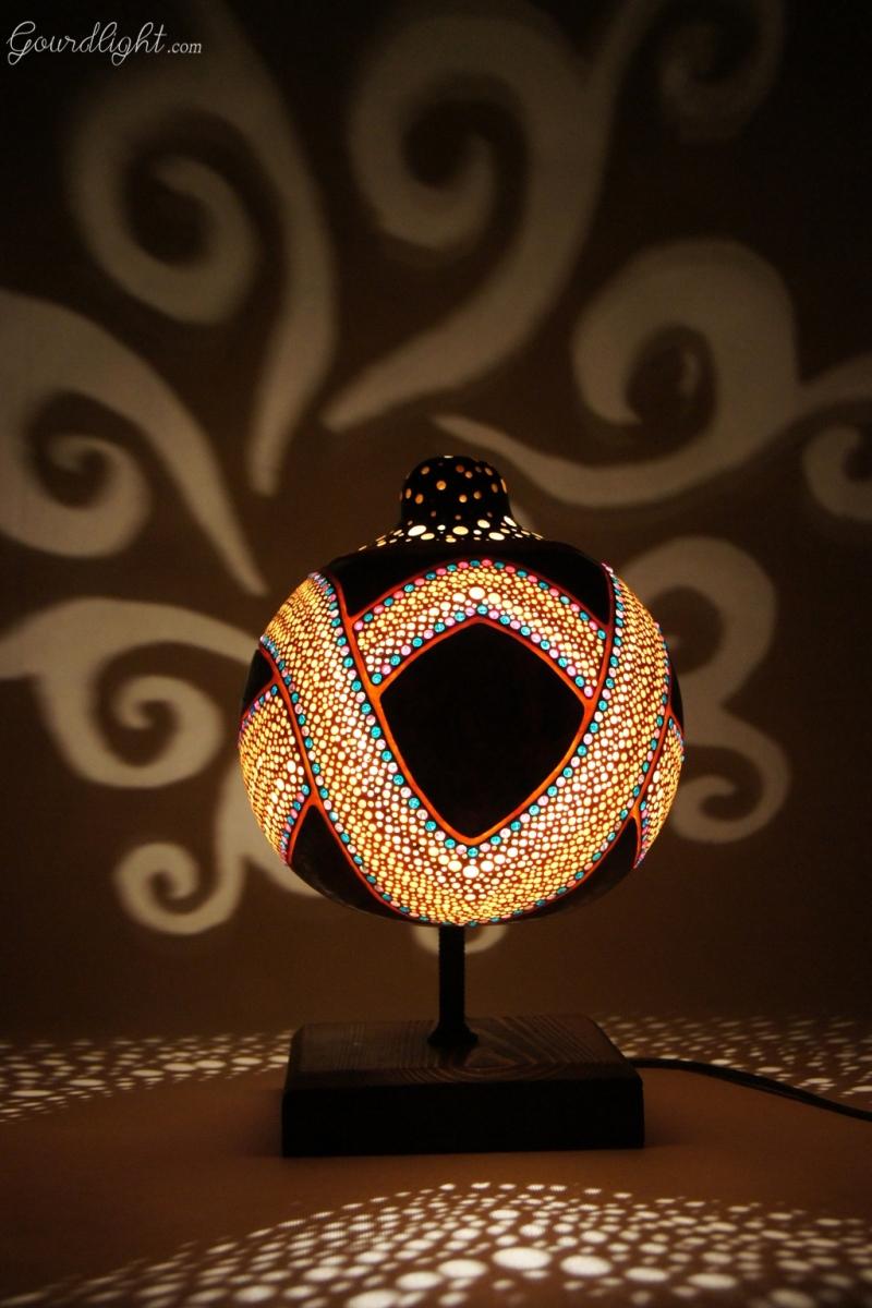 Gourd Lamp unique gourd lamps