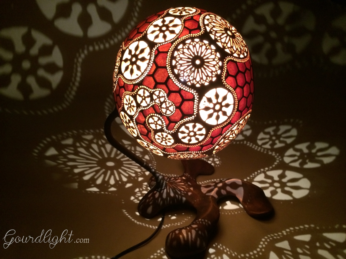 gourd watch ambiance handrafted ideas luciferous the gift lighting design lamp handmade